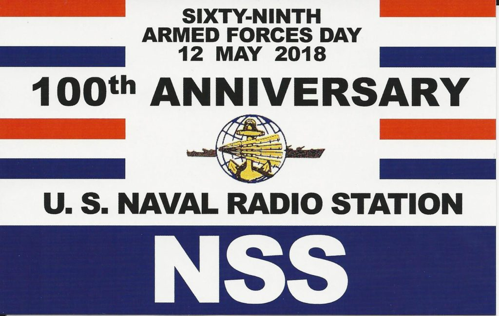 100th Anniv Cross Band QSO